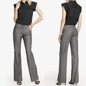 Express Editor charcoal grey dress pants 4 short